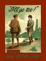 World War I Poster The Real Irish Spirit