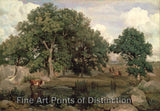 Forest of Fontainebleau by Jean Baptiste-Camille Corot