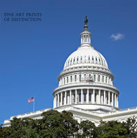 Dome of the United States Capitol Building Art Print