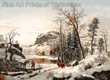 New England Early Winter by Samuel Lancaster Gerry