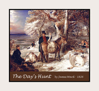The Day's Hunt painted by James Ward premium poster