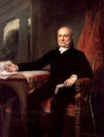 John Quincy Adams Portrait painted by George Peter Alexander Healy in 1858