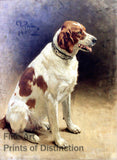 Dog by Ilya Repin