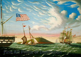 Boston Harbor by Thomas Chambers