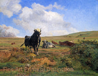 The Leader of the Herd by Auguste Bonheur