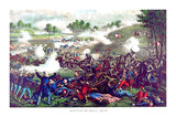 The Battle of Bull Run by Kurz and Allison in 1889