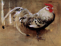 Crawhall, Joseph - Spangled Cock Fine Art Rooster Print