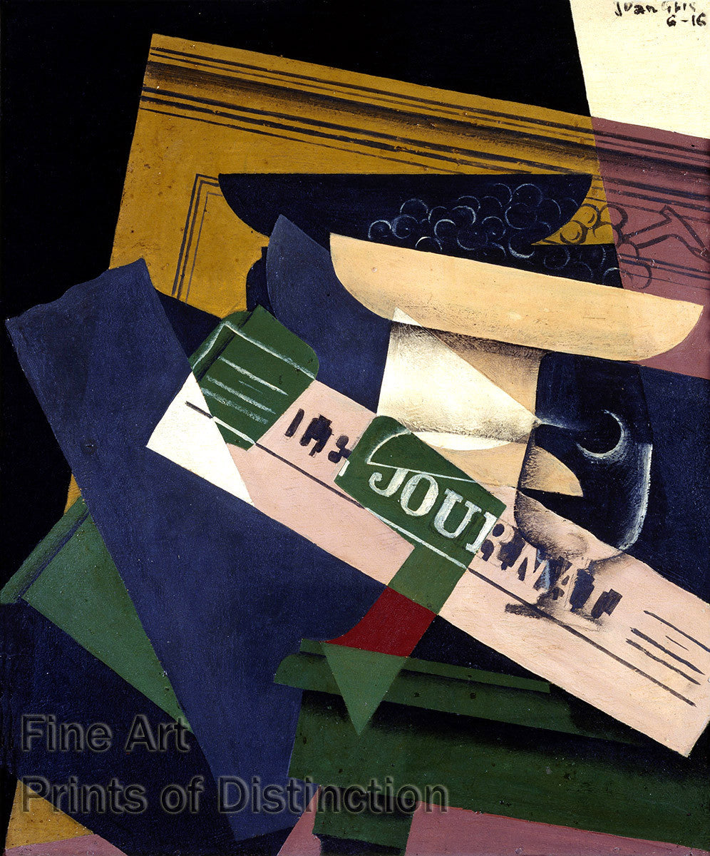 Grapes or Les Raisins by Juan Gris