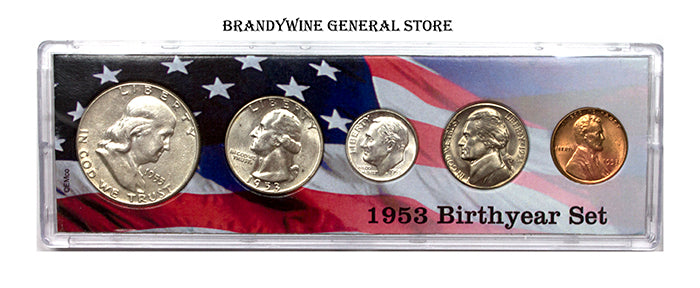 1953 Birth Year Coin Set