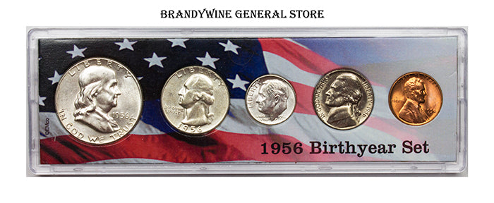 1956 Birth Year Coin Set