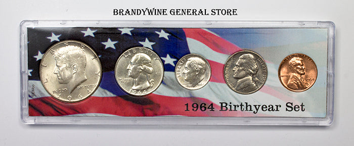 1964 Birth Year Coin Set