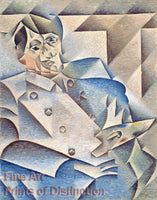 A Portrait of Pablo Picasso by Juan Gris