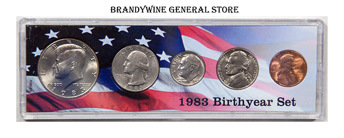 1983 Birth Year Coin Set