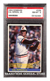 1984 Cal Ripken Donruss Baseball Card certified PSA 8