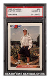 1992 Chipper Jones Bowman Baseball Card PSA 8