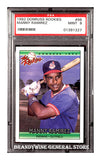 1992 Manny Ramirez Donruss Rookie Baseball Card PSA 9 Mint