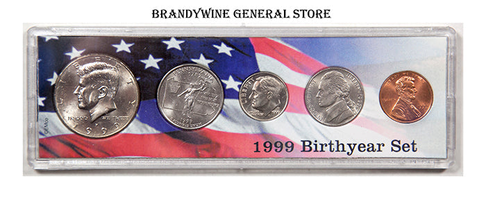 1999 Birth Year Coin Set