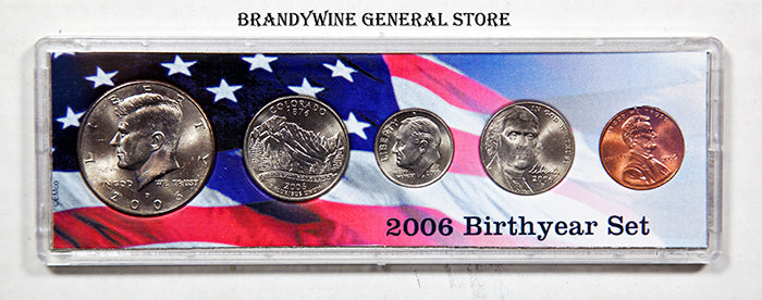 2006 Birth Year Coin Set
