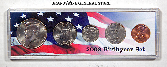 2008 Birth Year Coin Set