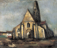 A Church in Paris by Saeki Yuzo