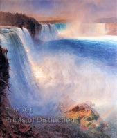 Niagara Falls from the American Side by Frederic Edwin Church