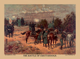 The Battle of Chattanooga by L. Prang and Co