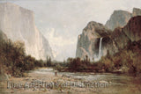 Yosemite Bridal Veil Falls by Thomas Hill