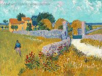 Farm House in Provence by Vincent Van Gogh Art Print