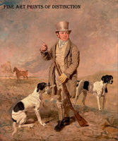 Portrait of a Sportsman, possibly Richard Prince painted by the English artist Benjamin Marshall around 1826