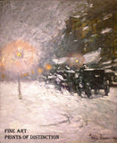 Winter Midnight by Childe Hassam painted in 1894