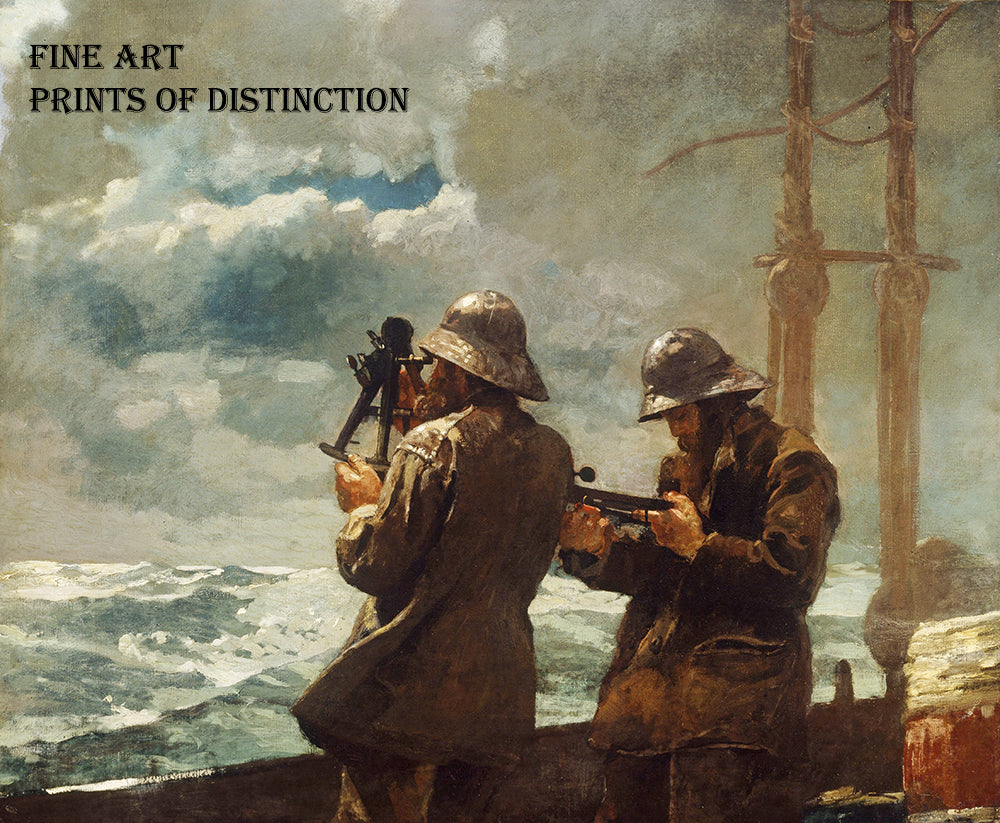 Eight Bells painted by Winslow Homer in 1887