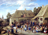 Country Fair by David Teniers the Younger