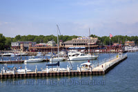 Boatyard at Put in Bay Ohio Art Print