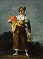 The Water Carrier painted by Spanish artist, Francisco Goya between 1808 - 1812