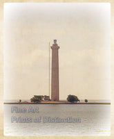 Perry's Monument Antique Photo Art Print