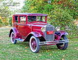 1930 Model Ford in To Kill a Mockingbird Premium Print