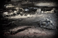 Perry's Cave Ceiling and Floor Art Print