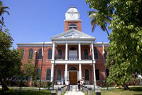 Monroe County Courthouse located in Key West Florida Art Print