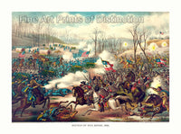 he Battle of Pea Ridge by Kurz and Allison from 1889