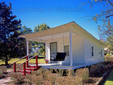 Elvis Presley Birthplace Home in Tupelo Mississippi