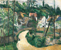 Turn in the Road painted by French Artist, Paul Cezanne around 1881