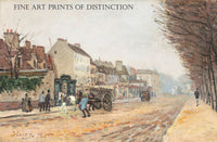 Boulevard Heloise, Argenteuil painted by the French artist Alfred Sisley in 1872