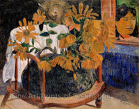 Gauguin Paul - Sunflowers Fine Art Print
