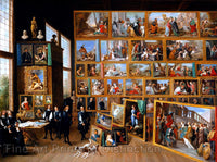 The Art Collection of Archduke Leopold Wilhelm of Brussels by David Teniers the Younger