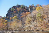 Eagle Rocks & South Branch River in the Smoke Holes Art Print