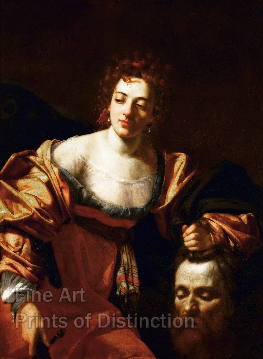 Judith and the Head of Holofernes by Simon Vouet