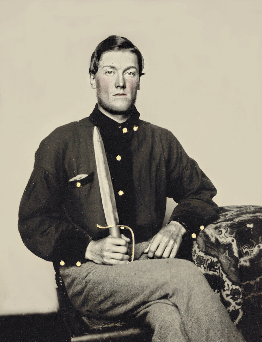 Private David Bowman of the 7th Virginia Cavalry Company B