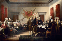 Declaration of Independence by John Trumbull Art Print