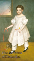 Girl With Kitten by Joseph Goodhue Chandler Art Print