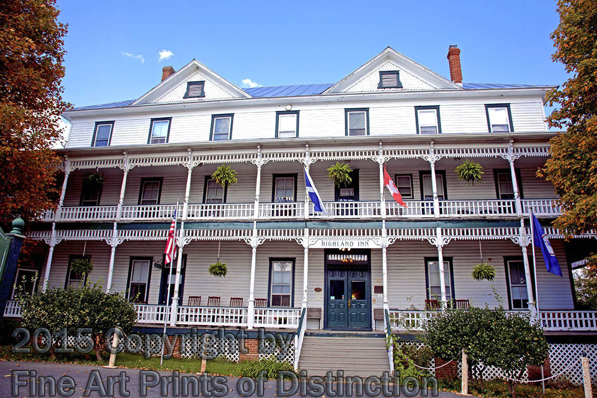 Highland Inn at Monterey Virginia